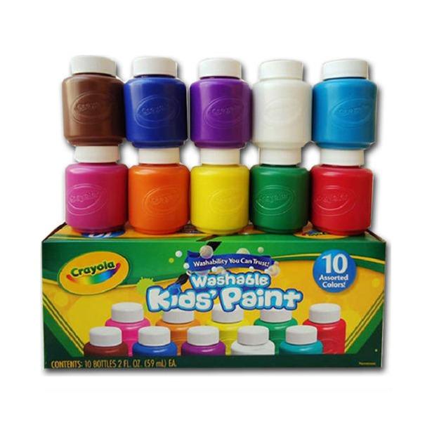 фото Акварель в баночках Crayola «Washable paint»