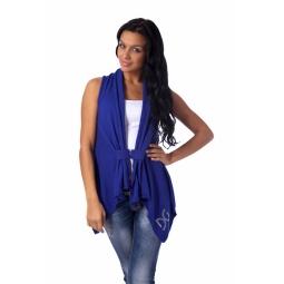 фото Жилет Mondigo 9739. Цвет: синий. Размер одежды: 46