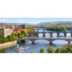 Купить Пазл 4000 элементов Castorland «Река Влтава, Прага»
