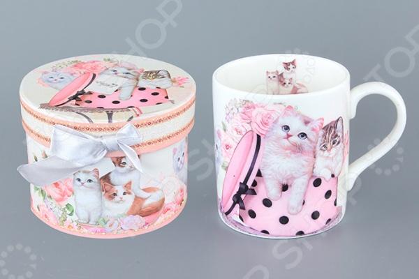 Кружка подарочная Elan Gallery «Котята» подарочная корзина чайная с заварочной кружкой