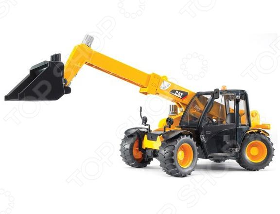 Погрузчик игрушечный Bruder колесный CAT Telehandler