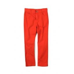 фото Брюки Appaman Skinny twill pants. Цвет: красный. Рост: 104-110 см