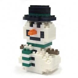 фото Мини-конструктор Nanoblock «Снеговик»