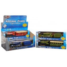 Купить Паровоз с вагоном HTI «Steam Train». В ассортименте