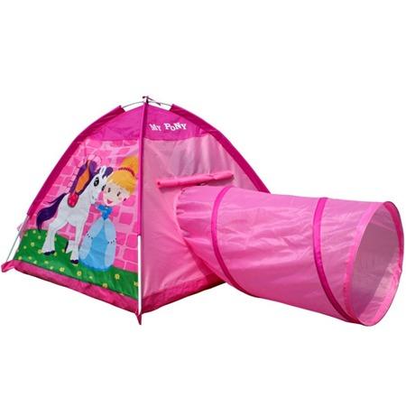 Купить Палатка игровая с туннелем IPlay «Маленький пони»