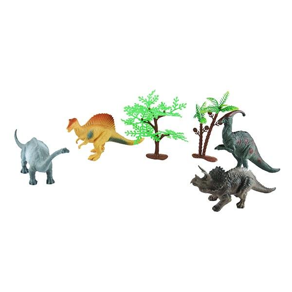 Набор фигурок Shantou Gepai «Долина динозавров» K145S