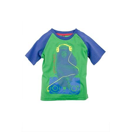Купить Футболка для мальчиков Besta Plus Animal Collection. Цвет: зеленый