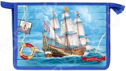 Папка для тетрадей Проф-Пресс «Парусный корабль»