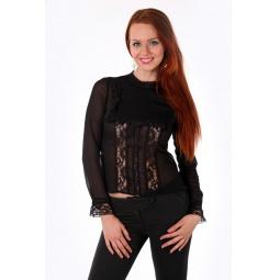 фото Блузка Mondigo 9611. Цвет: черный. Размер одежды: 50