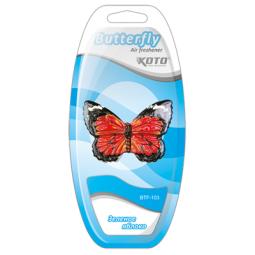 фото Ароматизатор на дефлектор KOTO Butterfly. Вид: Зеленое яблоко