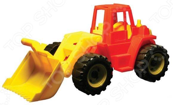 Трактор игрушечный Нордпласт «Трактор Ангара с грейдером» перчатки newton per7 ангара люкс комбинированные спилковые