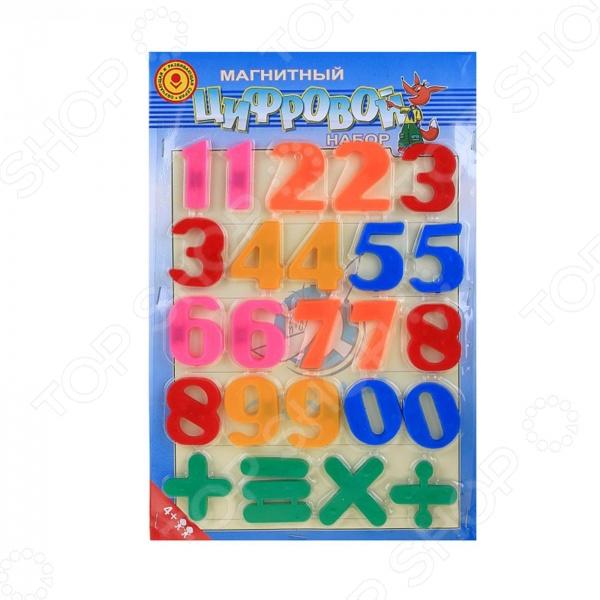Набор магнитных цифр Эра 21062