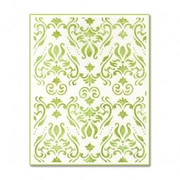 фото Форма для эмбоссирования Sizzix Ink-its Letterpress Plate Дамасский узор