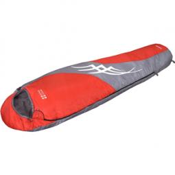 фото Спальный мешок NOVA TOUR «Сахалин». В ассортименте. Цвет: серый, красный. Расположение молнии: левостороннее