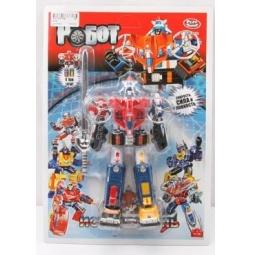 фото Игрушка-трансформер PlaySmart «Робот» Р41284