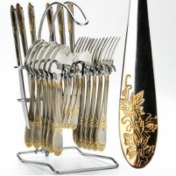 Купить Набор столовых приборов на подставке Mayer&Boch MB-23115