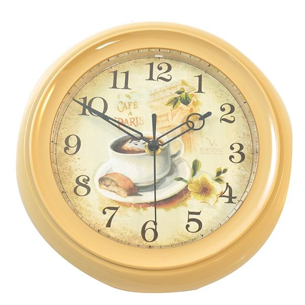 Часы настенные Вега «Кофе и Париж»