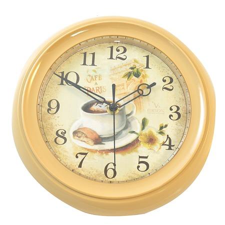 Купить Часы настенные Вега «Кофе и Париж»