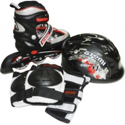 Купить Роликовые коньки с комплектом защиты и шлемом ATEMI AJIS-07 boy set-3