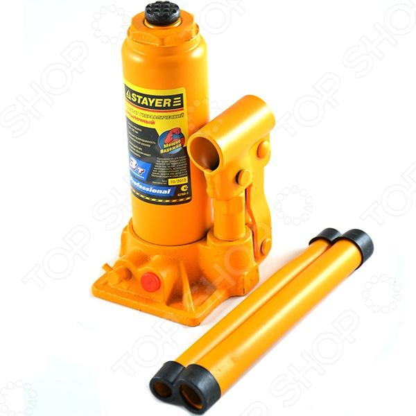 Домкрат гидравлический бутылочный Stayer Profi 43160 - фото 4