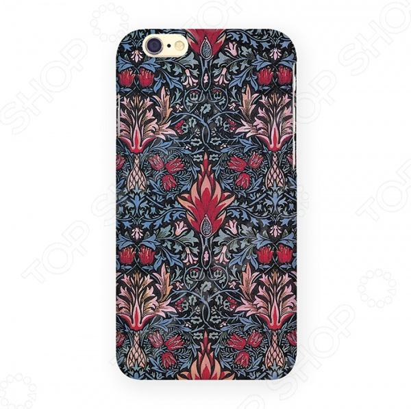 Чехол для iPhone 6 Mitya Veselkov «Тюльпановый принт» чехлол для ipad iphone mitya veselkov чехол для iphone 6 гагарин ip6 мitya 016