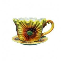 фото Кашпо декоративное Valenсia «Цветок герберы»