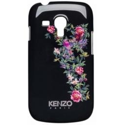 фото Чехол Kenzo Exotic Cover для Samsung S3 Mini. Цвет: черный