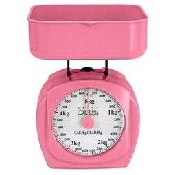 фото Весы кухонные Delta КСА-003. Цвет: розовый