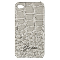 фото Чехол Guess Hard Case Croco для iPhone 4S