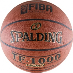 фото Мяч баскетбольный Spalding TF-1000 Legacy. Размер мяча: 6