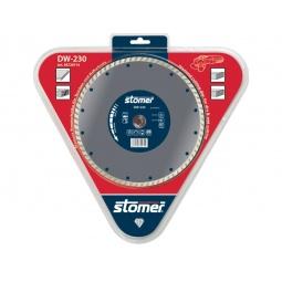 фото Диск алмазный Stomer для сухой и влажной резки. Модель: DW-230. Размер: 230 мм
