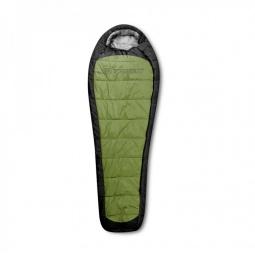 фото Спальный мешок Trimm Impact. Цвет: зеленый. Расположение молнии: правостороннее