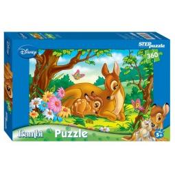 фото Пазл 360 элементов Step Puzzle Бемби (с мамой)