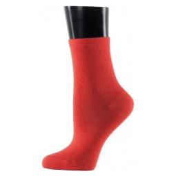 фото Носки женские Teller Silk Cashmere. Цвет: оранжево-розовый