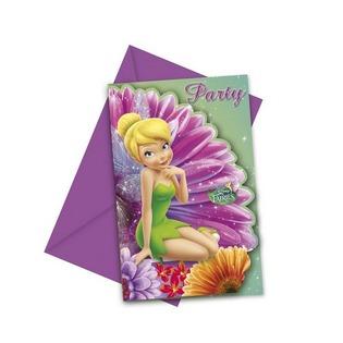 Купить Приглашения в конвертах Procos 85248 «Волшебные феи»