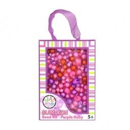 фото Набор для создания украшений Bead Bazaar «Фиолетовый рубин»