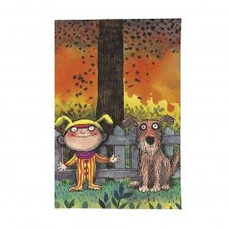 фото Обложка для паспорта Mitya Veselkov «Мальчик и пес»