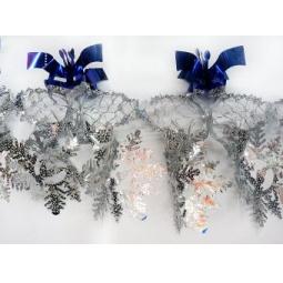 фото Растяжка новогодняя Новогодняя сказка «Снежинки» 972160