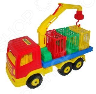 Машинка игрушечная Полесье для перевозки зверей 09586
