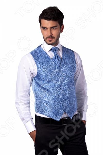 Жилет Mondigo 20601. Цвет: голубой