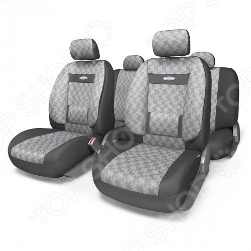 Набор чехлов для сидений с ортопедической поддержкой Autoprofi COM-1105 Comfort Diamond
