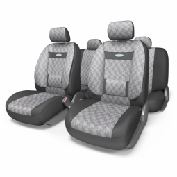 Купить Набор чехлов для сидений с ортопедической поддержкой Autoprofi COM-1105 Comfort Diamond
