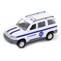 фото Машина инерционная АВТО ПО-РУССКИ «Джип. Полиция»