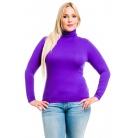 Фото Водолазка Mondigo XL 046. Цвет: фиолетовый. Размер одежды: 50