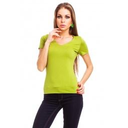 фото Футболка Mondigo 056. Цвет: зеленый. Размер одежды: 44
