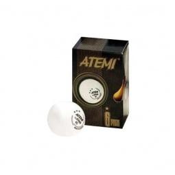 Купить Мячи для настольного тенниса ATEMI 1* белые, 6 шт.