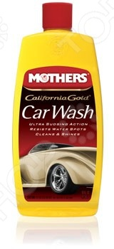Шампунь для поверхностей, обработанных защитными полиролями Mothers MS05600 California Gold