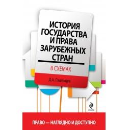 Купить История государства и права зарубежных стран в схемах