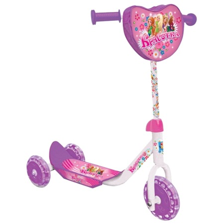 Купить Самокат трехколесный 1 Toy Т53991 «Красотка»