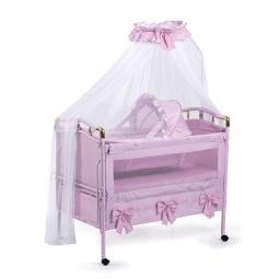 фото Кроватка-трансформер детская Geoby 05TLY668R. Цвет: розовый
